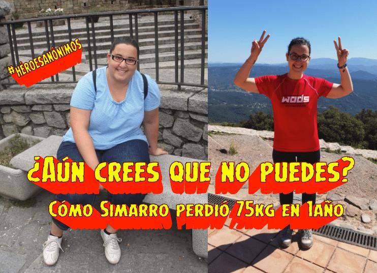 #HéroesAnónimos El cambio radical de Simarro y cómo salvó su vida perdiendo 75kgs
