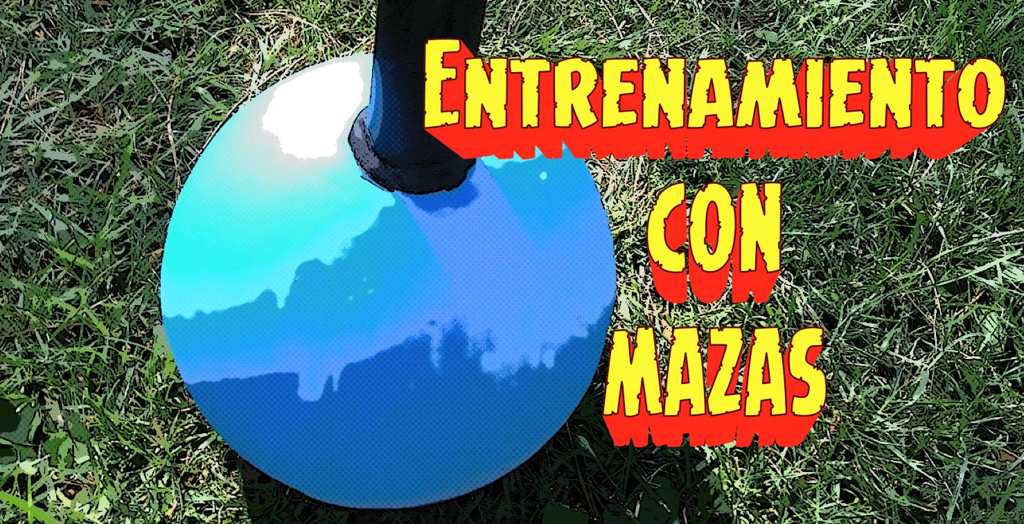 Entrenamiento con Mazas – Entrevista a Gastón