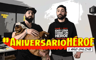 #AniversarioHÉROE un año online