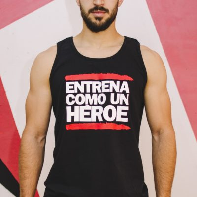 Camiseta tirantes ECUH chico