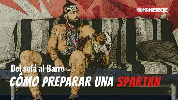 DEL SOFÁ AL BARRO: el libro para preparar una Spartan