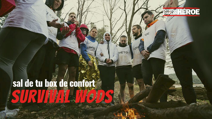 Sal de tu box de confort – Survival WODS